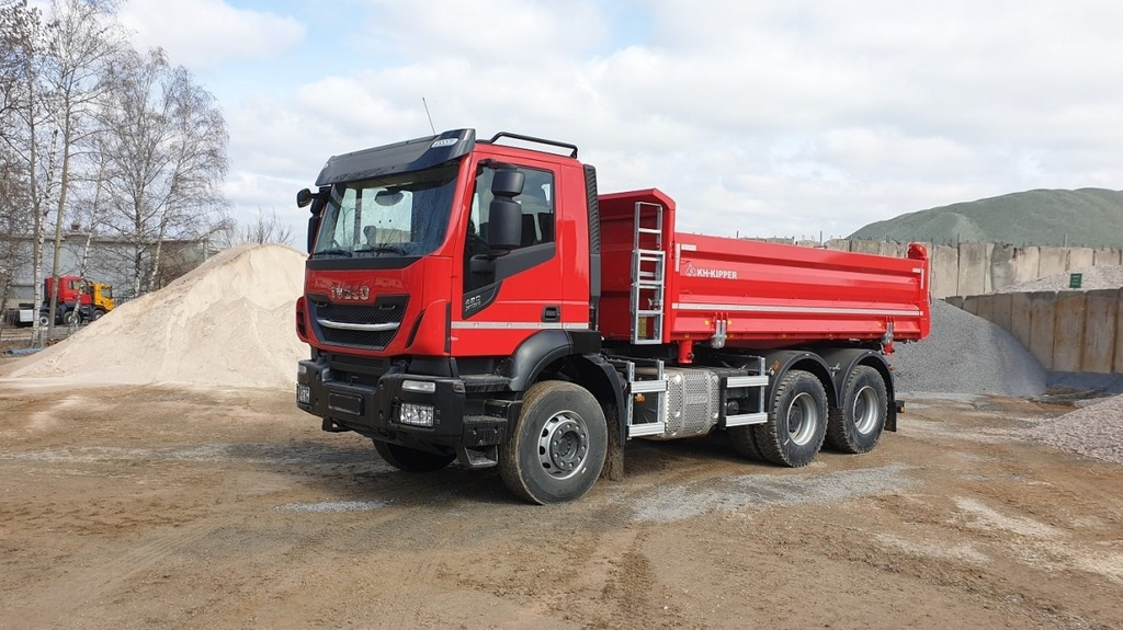 IVECO X-Way WYWROTKA KH-KIPPER